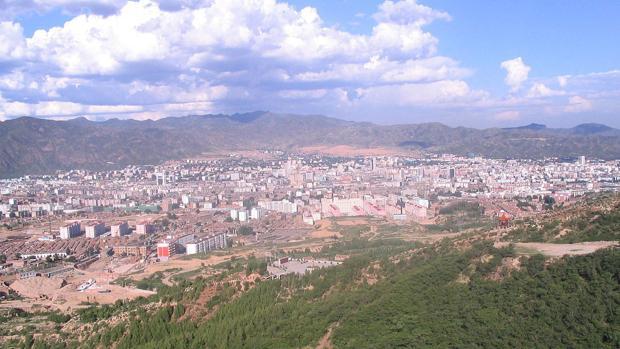 Vista de Zhangjiakou