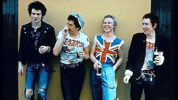 Los Sex Pistols, en una imagen de archivo