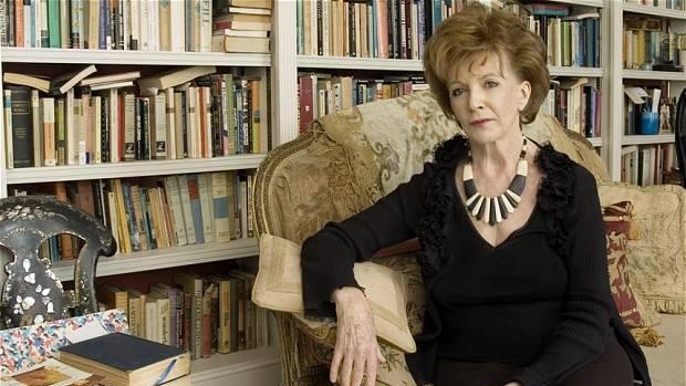La escritora irlandesa Edna O'Brien