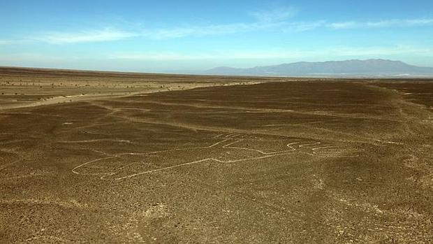 Imagen de archivo de una de las figuras de Nazca en 2014