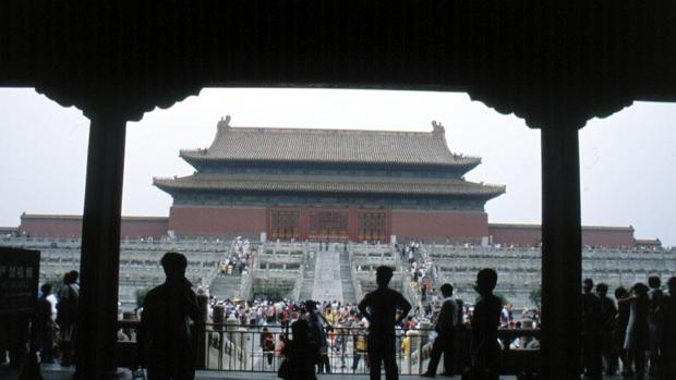 Vista de la Ciudad Prohibida de Pekín