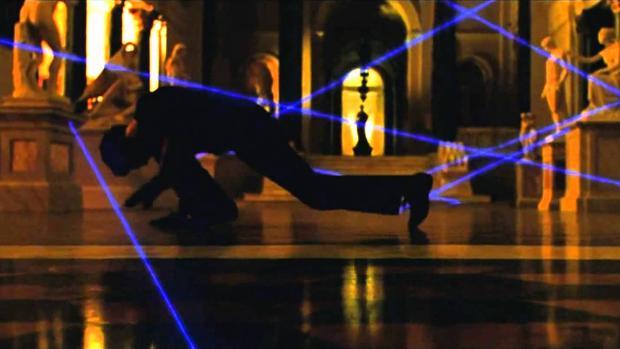 Una imagen de un robo de arte en «Ocean's Twelve»