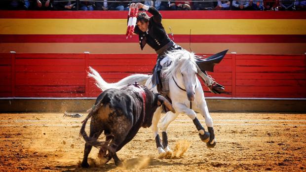 Diego Ventura, en un par a dos manos con «Dólar»