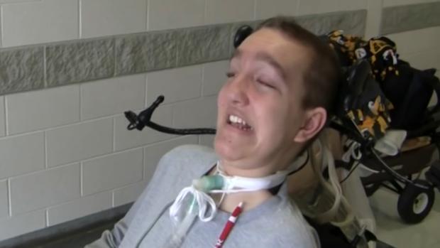 Alex Malarkey en un vídeo realizado por su madre
