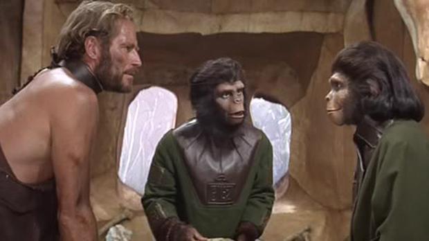 Fotograma de la película «El Planeta de los Simios»