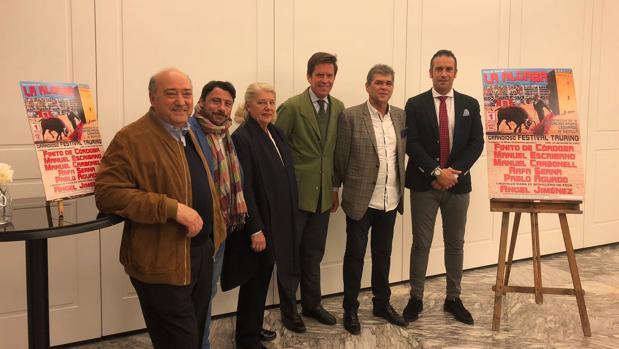 Florencio Gutiérrez, Carlos Puertas, Concha Mejía, Dávila Miura, Pepe Mesta y Manuel Carbonell