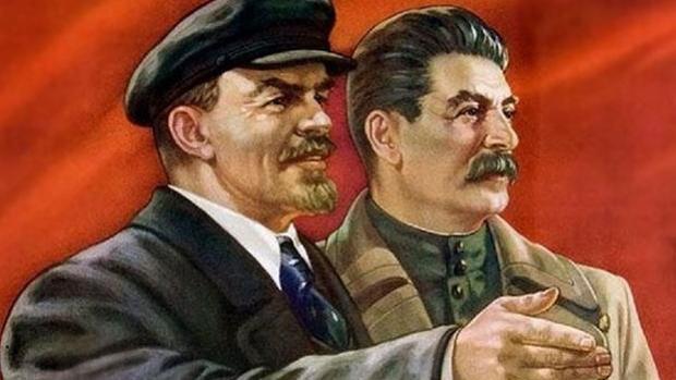 Lenin y Stalin, dos de los personajes más relevantes en la historia de la Unión Soviética
