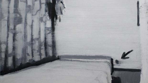 Obra de la serie «Cuando ya sólo pueda soñar en blanco y negro»