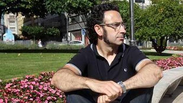 El escritor asturiano Jon Bilbao