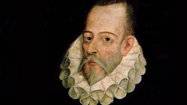 El escritor Miguel de Cervantes