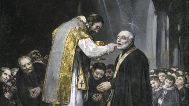 «La última comunión de san José de Calasanz» de Goya
