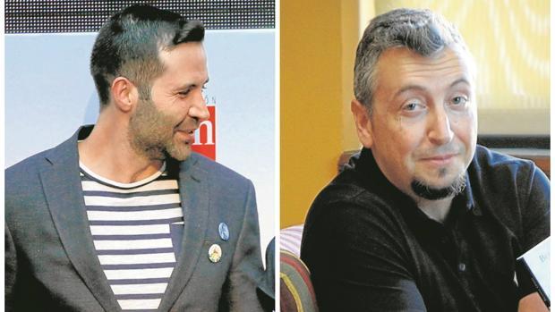 Pedro Mañas y Benito Olmo