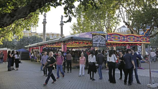 El escenario del sello Happy Place, uno de los más populares del Monkey Week