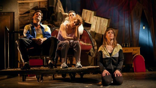Daniel Grao, Verónica Ronda, Alejandro Jato y Marta Etura, en «Ilusiones»