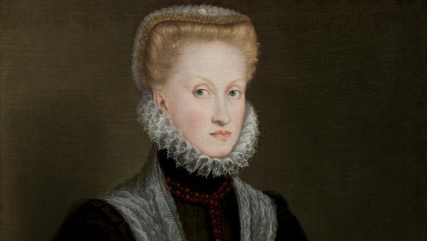 Ana de Austria, retrato de Sofonisba Anguissola