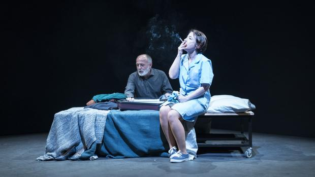 Pablo Viña y Eugenia Alonso, en una escena de la función