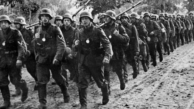 Tropas alemanas de la Wehrmacht , en 1939