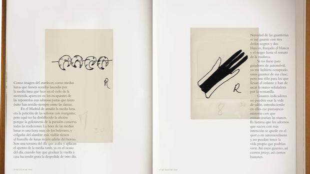 El volumen editado por el Museo ABC incluye todos los dibujos realizados por Ramón para sus greguerías