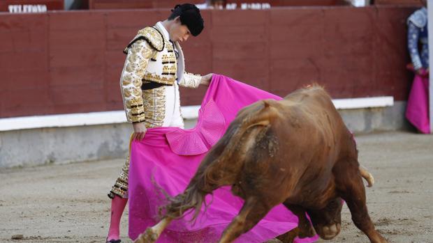Manolo Vanegas, en Las Ventas, en una imagen de archivo