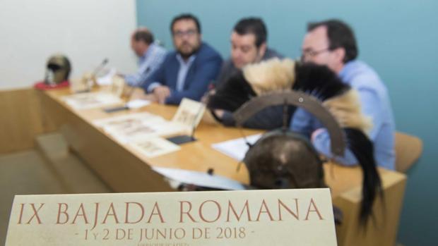 Presentación de la IX Bajada Romana