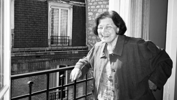 Mavis Gallant en París en 2006