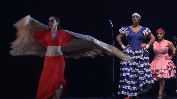 Cada año aumentan los espectadores en esta cita de cine y flamenco