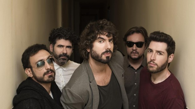 Mikel, Alejandro, Alberto, Gato e Iván, los cinco IZAL