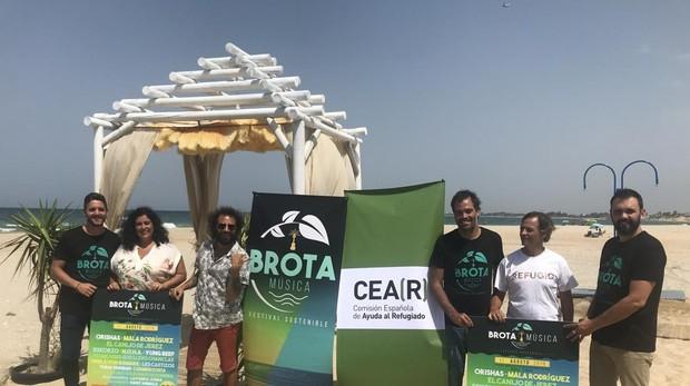 Foto de la presentación oficial del festival Brota Música.