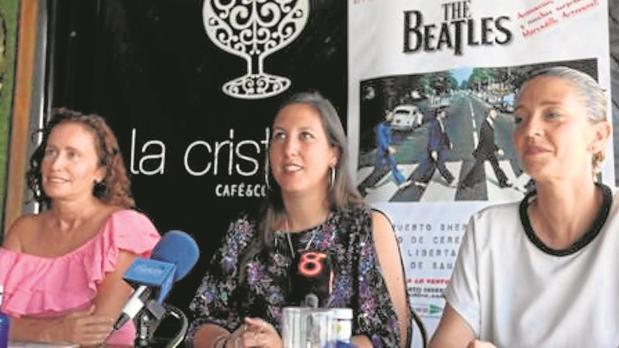 Acto de presentación del concierto de 'The Beatles' en El Puerto