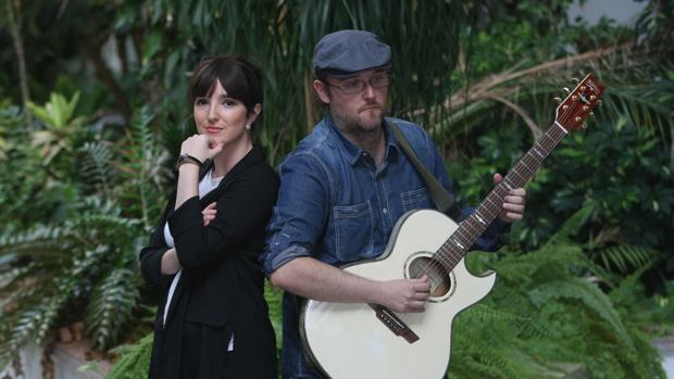 Aurora y Ángel Pérez, integrantes de Random Thinking