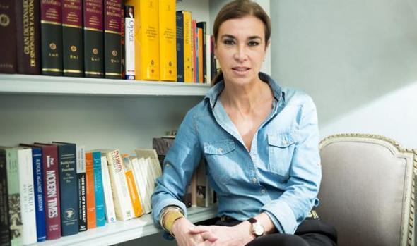 La escritora Carmen Posadas.