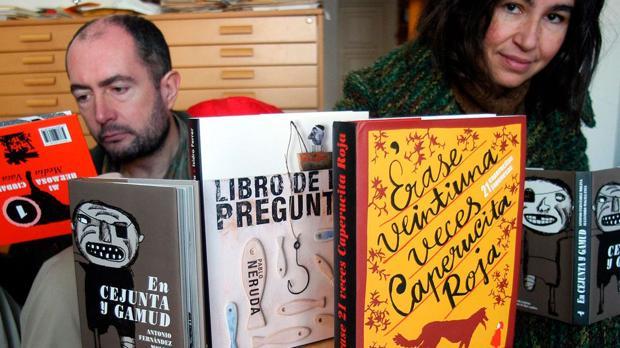Vicente Ferrer y Begoña Lobo, fundadores de Media Vaca