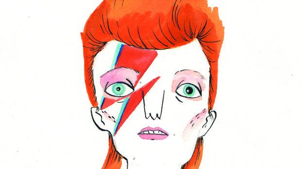 Bowie según María Hesse