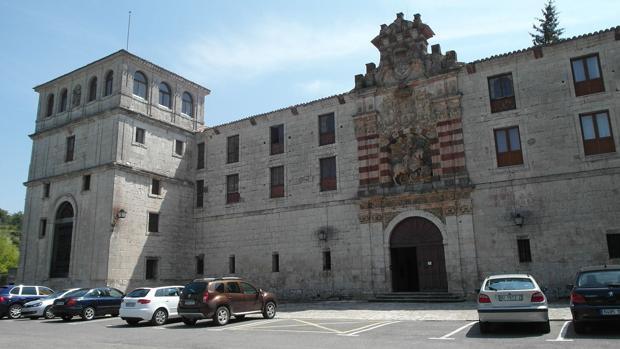 Imagen del monasterio de San Pedro de Cardeña (Burgos)