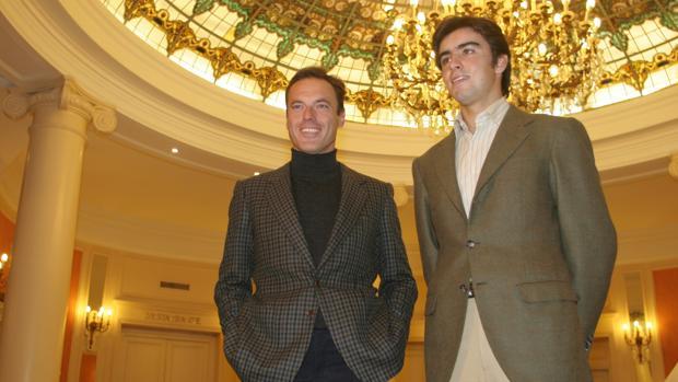 Fernando Cepeda y Miguel Ángel Perera, en una imagen de archivo