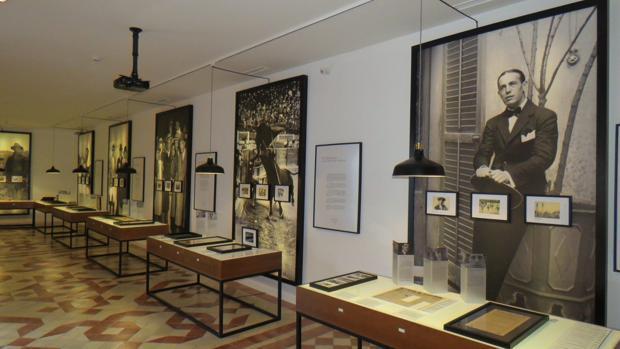 Exposición de Sánchez Mejías en el archivo-museo de Manzanares