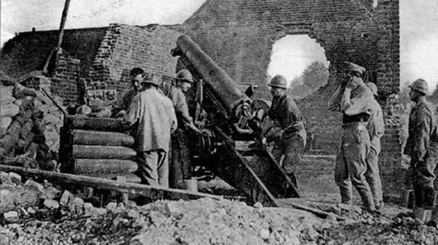 La batalla de El Somme, centro de esta novela de Joaquín Berges, fue una de las más cruentas de la I Guerra Mundial
