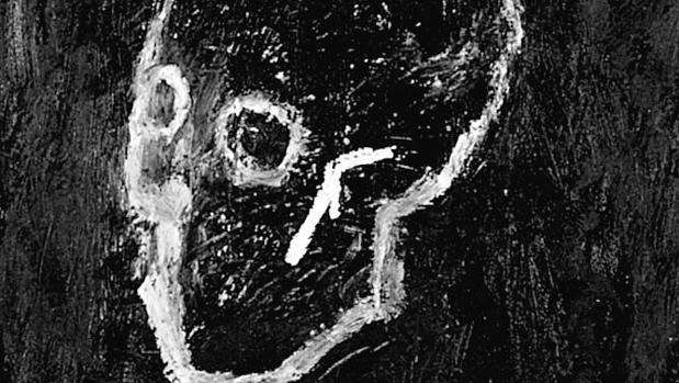Ilustración de «Cabeza de chamán»