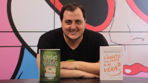 Fernando Macías, autor de 'El Asesino de comparsistas'