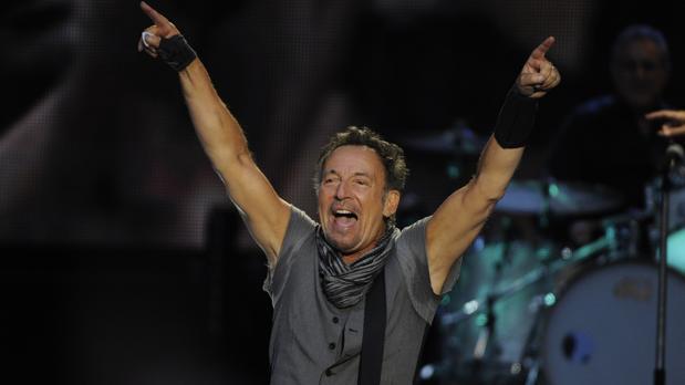 Springsteen, durante una actuación en Madrid en 2016