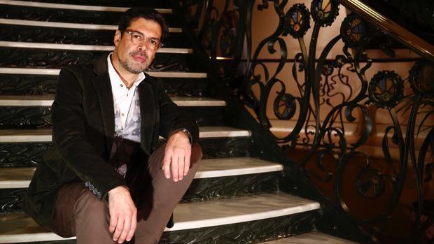 José Ángel Hevia, presidente de la SGAE, en el Palacio de Longoria