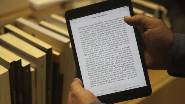 La facturación de los libros electrónicos supone el 5,1% del total del sector editorial