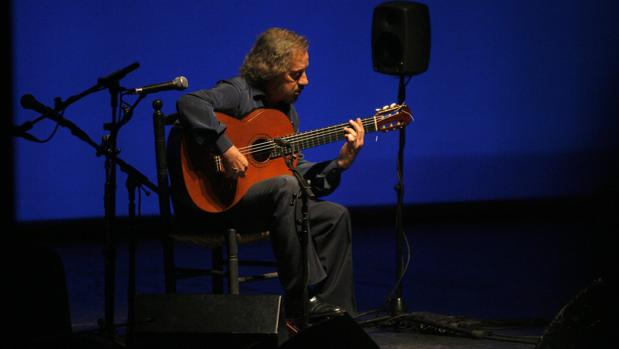 Serranito, durante una de sus actuaciones