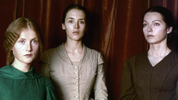 Isabelle Adjani, Isabelle Huppert y Marie-France Pisier en «Las hermanas Brontë» (1979)