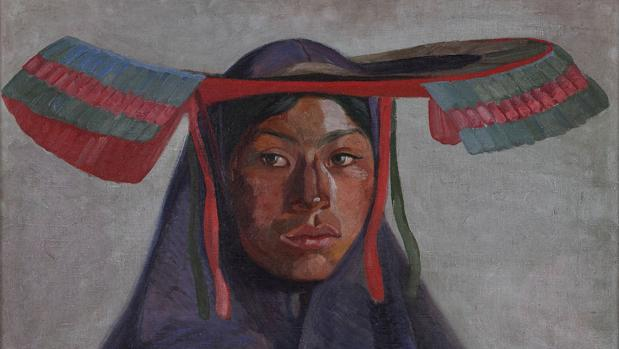 «La india», de José Sabogal. Detalle