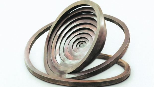 Una de las espirales de Martín Chirino