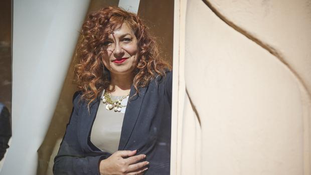 La presidenta de la SGAE, la compositora Pilar Jurado