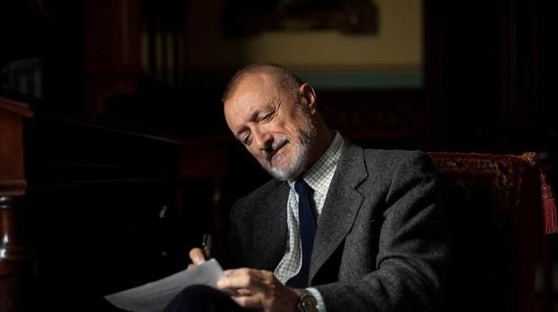 El escritor y académico de la RAE Arturo Pérez-Reverte, durante la entrevista que concedió a ABC Cultural
