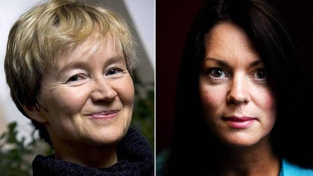 Las escritoras Ellen Mattson y Anne Swärd