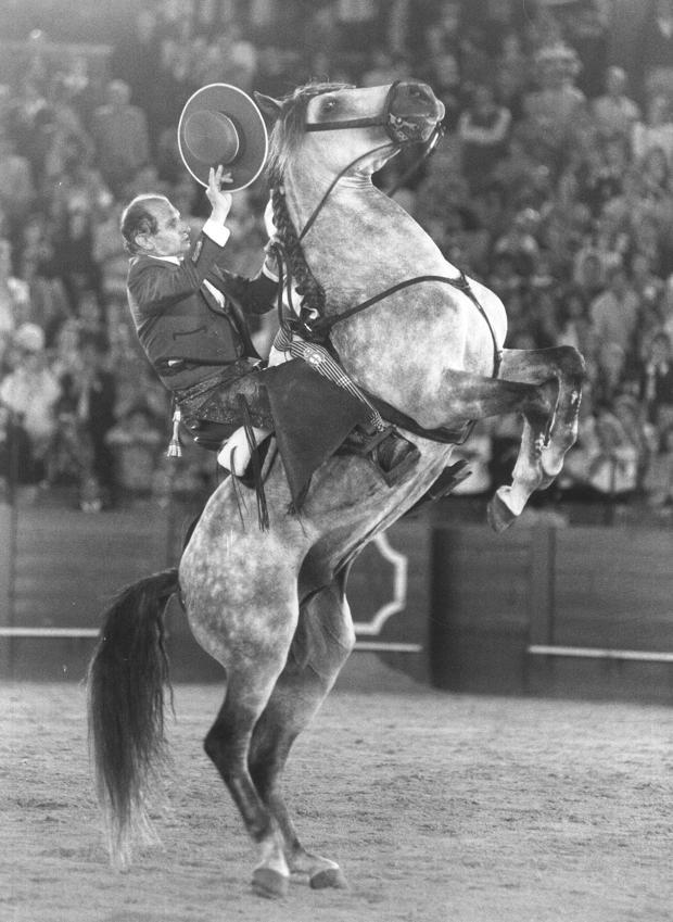 Ángel Peralta marcó un antes y un después en el toreo a caballo
